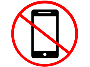 No Cellphones